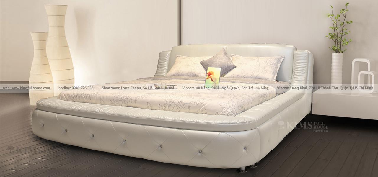 giường da cao cấp